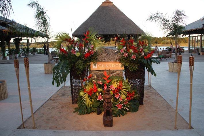 Decoracion Quincea?eras Hawaiano ~ La gran fiesta de blanco el estilo de Punta del Este a pleno, con