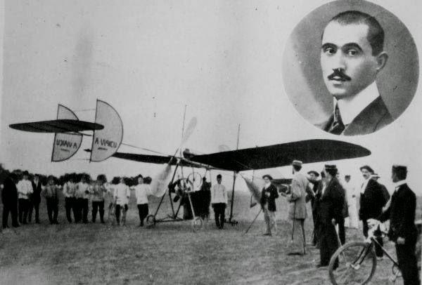Primul zbor al lui Aurel Vlaicu pe Dealul Cotroceni