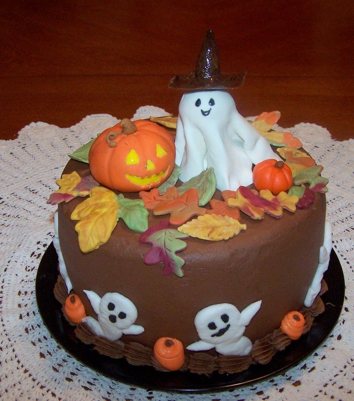 Easy Cake Decorating Halloween : Halloween Cake ~ Cake Idea Red Velvet Wedding Chocolate