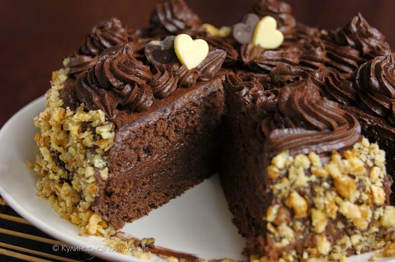 Рецепт шоколадного торта от александра селезнёва