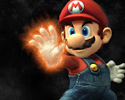 Home » Wallpapers Mario Bros » Wallpaper Mario Bross with fire