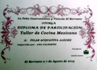 TALLER DE COCINA MEXICANA