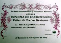 TALLER DE COCINA MEXICANA