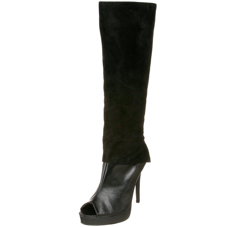 brady boutique kitten heels open toe boots