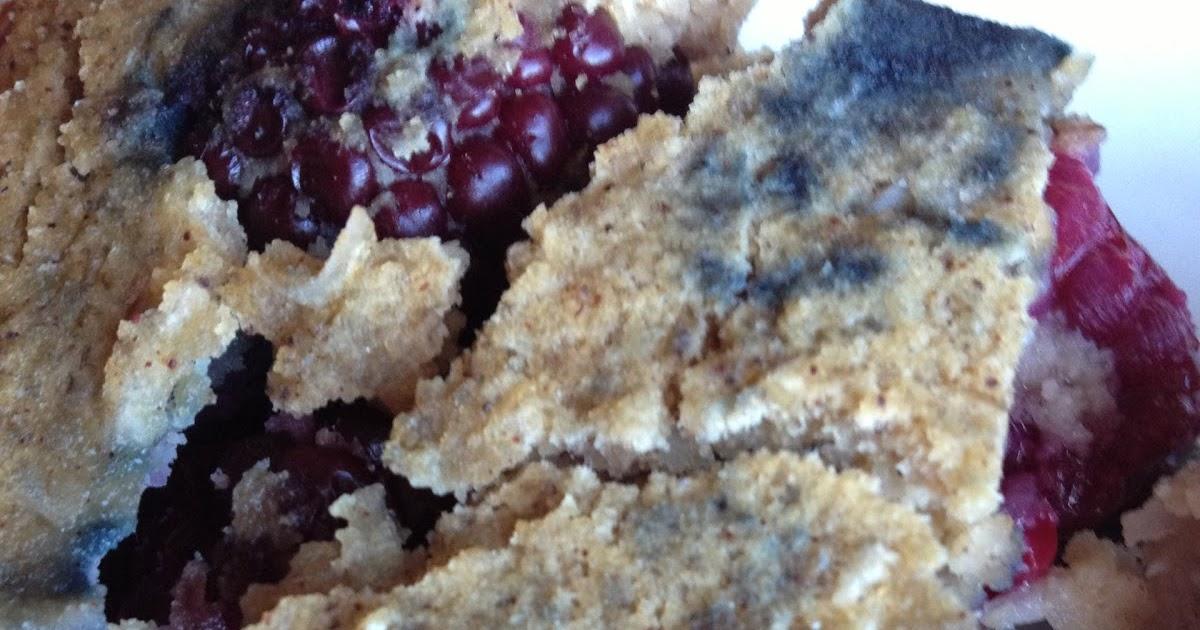 Lighten Up Paleo: Breakfast Blackberry Coconut Bars