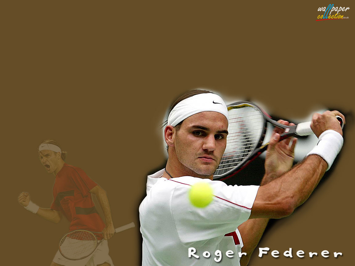plays sports: roger federer wallpaper 2010