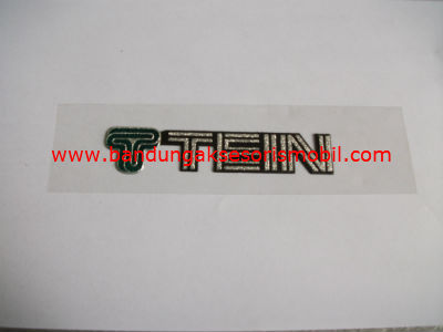Emblem Metalic Besar Lower Tein