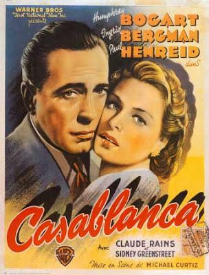 Cartel de la película Casablanca