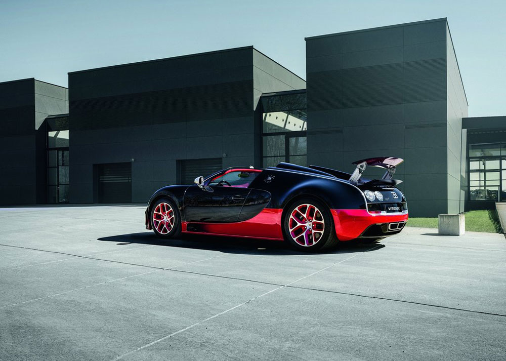 2012 bugatti veyron grand sport black and red. Black Bedroom Furniture Sets. Home Design Ideas