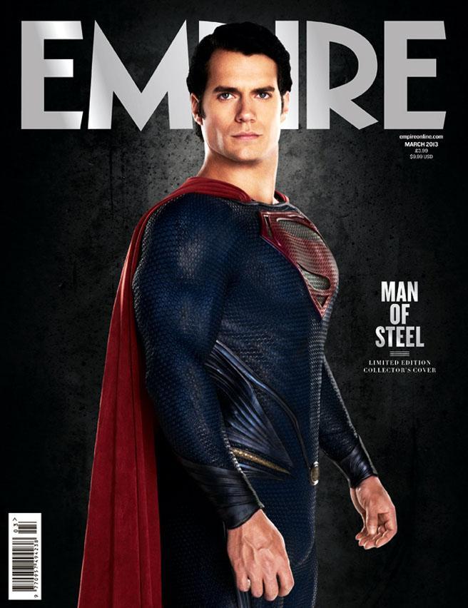 Henry Cavill en portada de Empire Magazine (Marzo 2013)