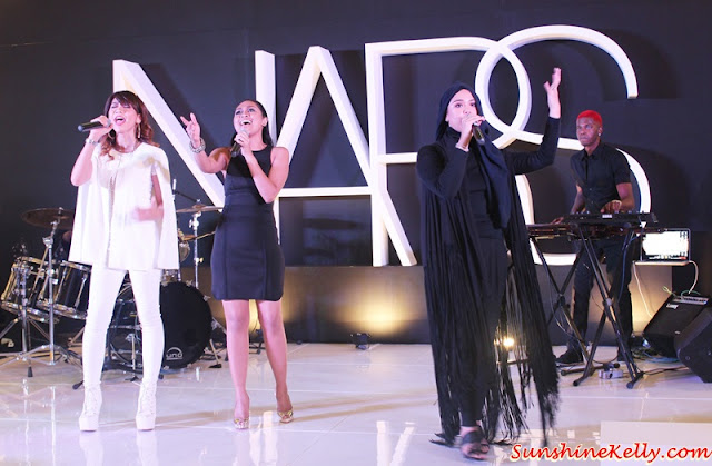 NARS Mid Valley Celebration Party, NARS Malaysia, NARS Mid Valley, NARS Private Screening Fall 2015 Color Collection, NARS Fall 2015, NARS AW15, NARS Party, Hunny Madu, Dayang Nurfaizah, Najwa Mahiaddin