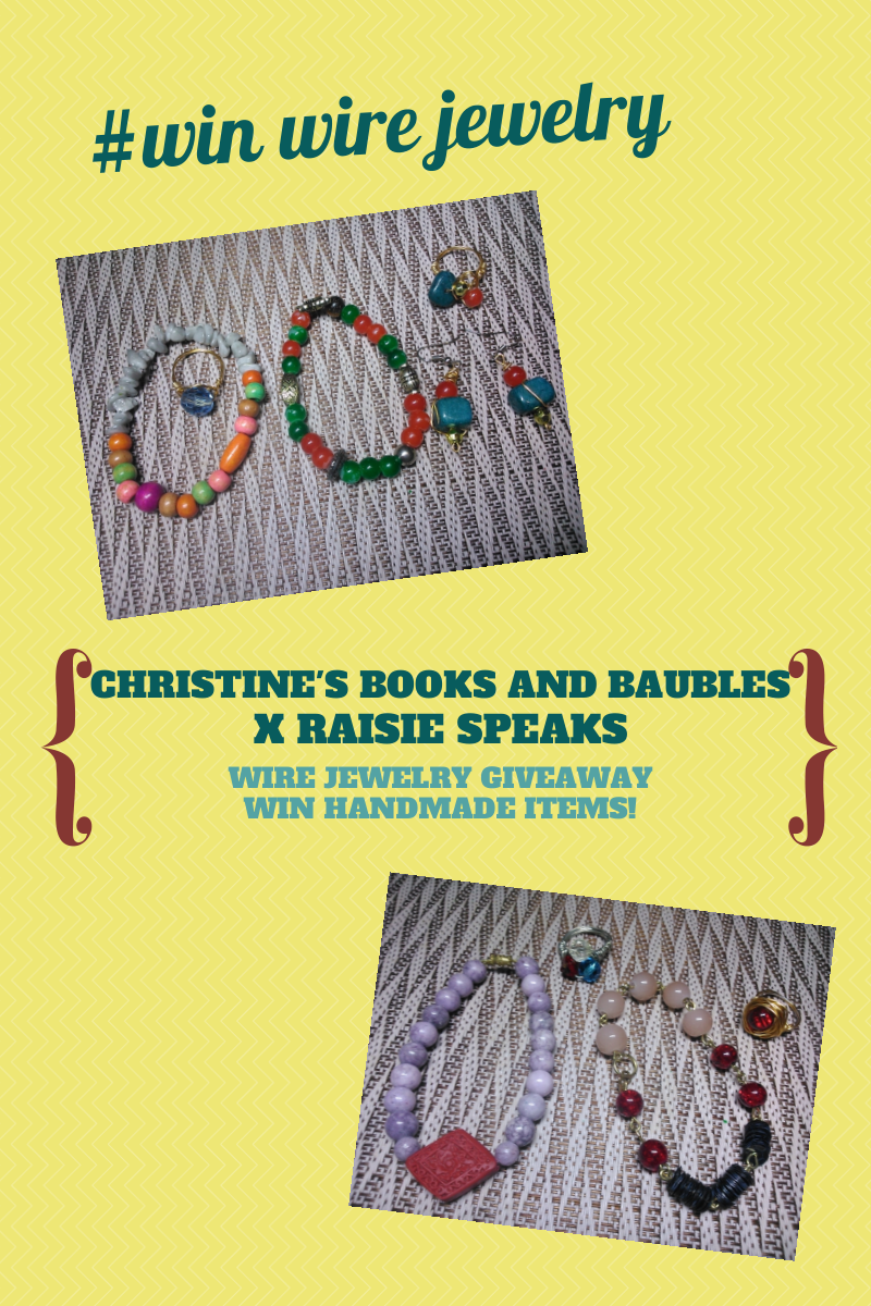 #Win Wire Jewelry from Christine's Books and Baubles
