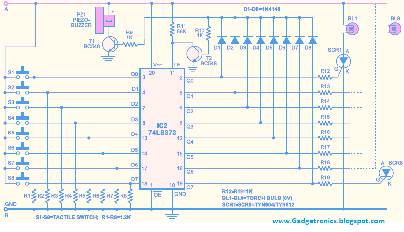 Awe Inspiring Pins Prevnext Game Show Buttons Circuit Diagram Of Quiz Here Is The Wiring Database Redaterrageneticorg