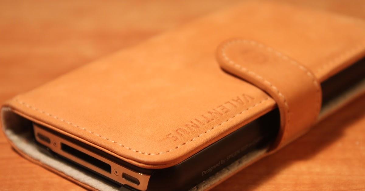 AllAboutMac: Review: Spigen SGP iPhone 4S Leather Wallet Case ...