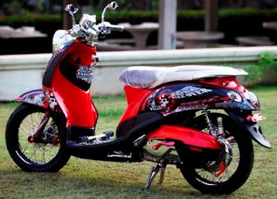 Yamaha Mio Fino Modif