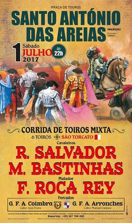SANTO ANTÓNIO DAS AREIAS (PORTUGAL) 01-07-2017. GRAN CORRIDA MISTA.