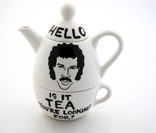 LennyMud's Lionel Richie Hello Is It Tea You're Looking For? teapot