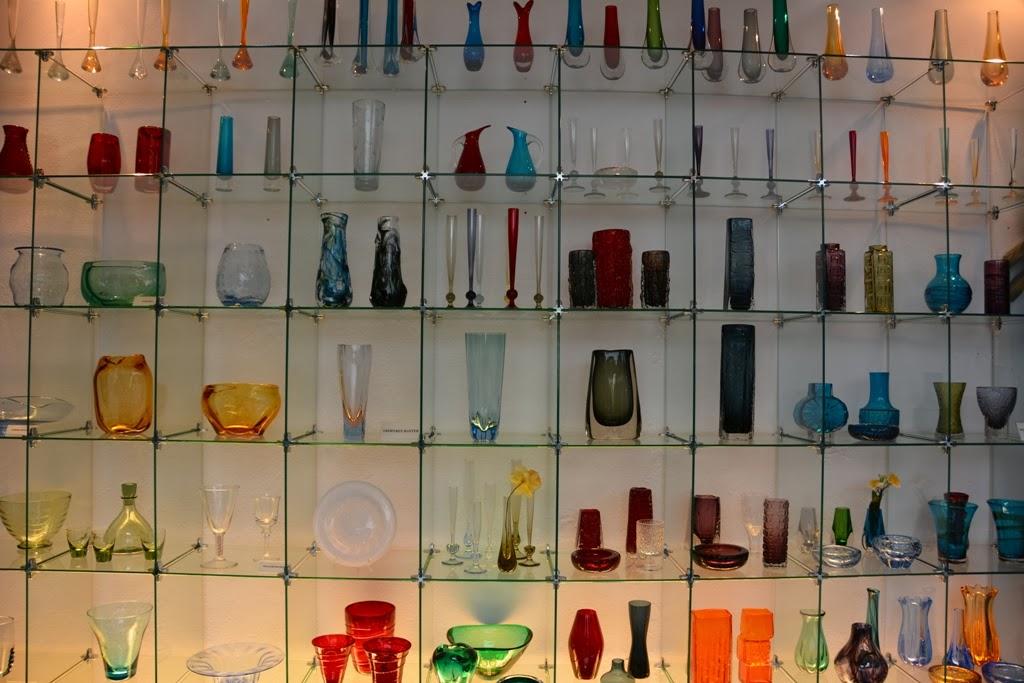 Crystal Museum Malaga vases