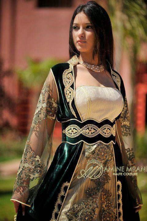 Kaftan elegance top mariage