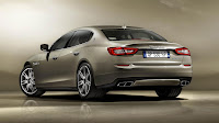 The new Maserati Quattroporte 2013 back