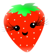 Red and Pink Stawberries   Random Girly Graphics