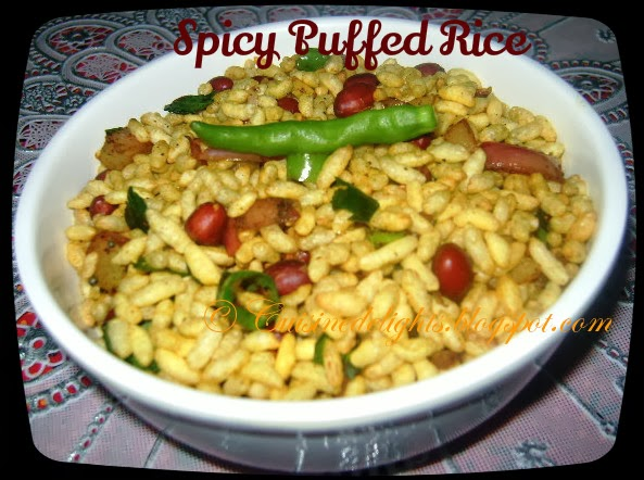 spicy puffed rice (spicy murmura)