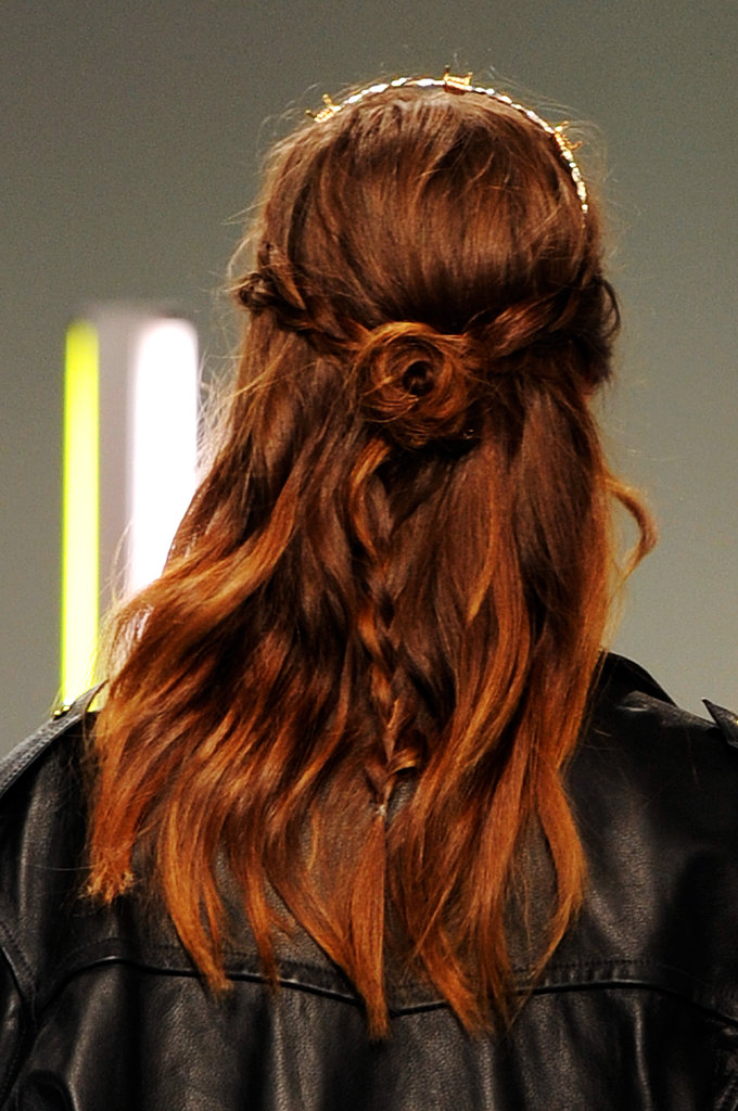 Medieval Braided Hairstyles Braids always add a nice touch