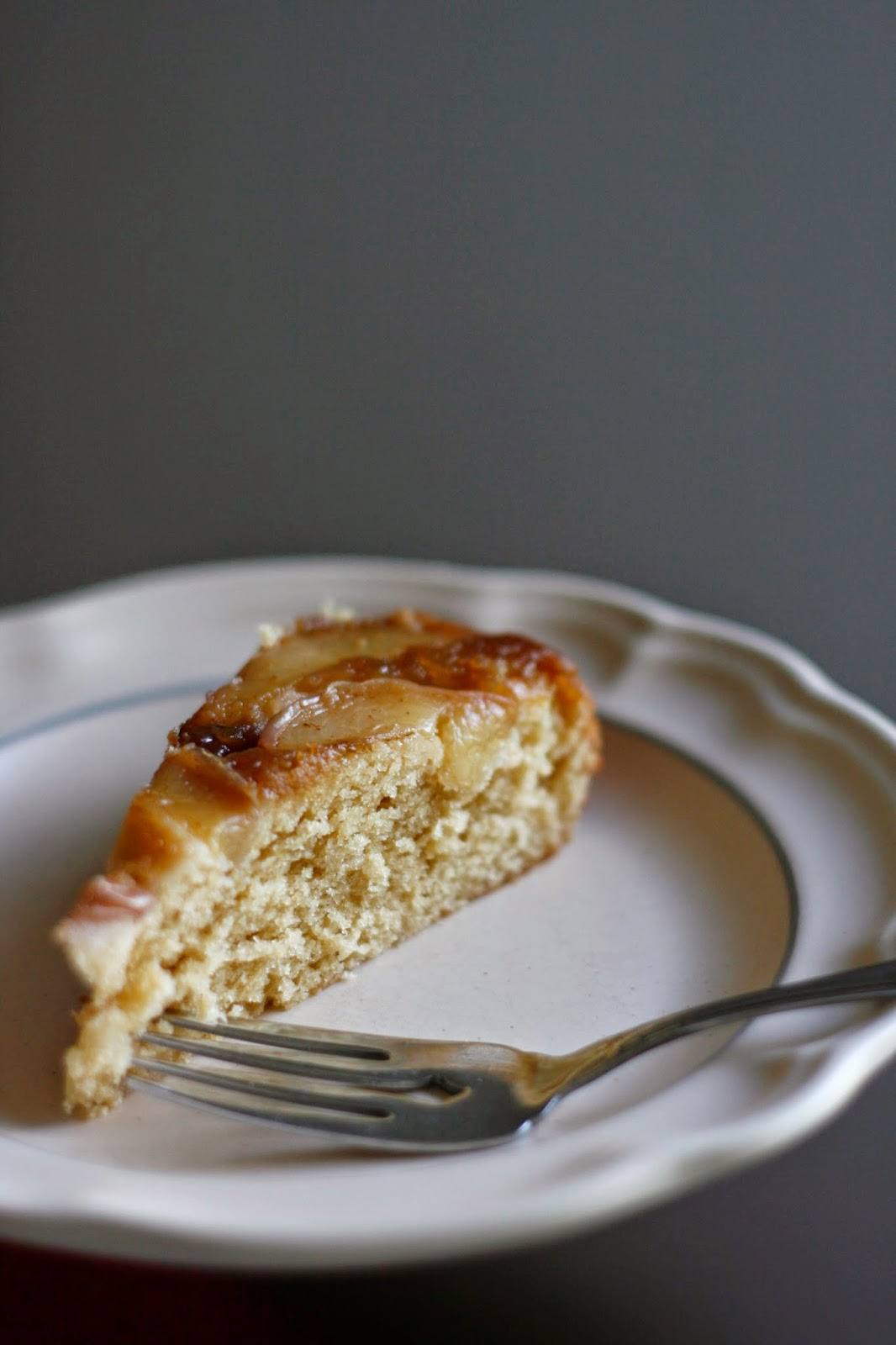 Indigo Scones: Brown Butter Nectarine Upside-Down Cake