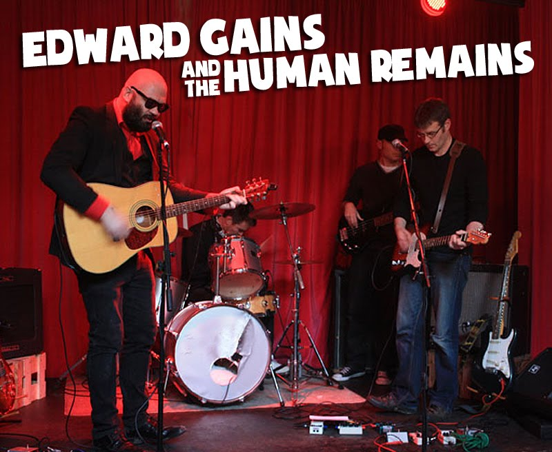 edward gains and the human remains