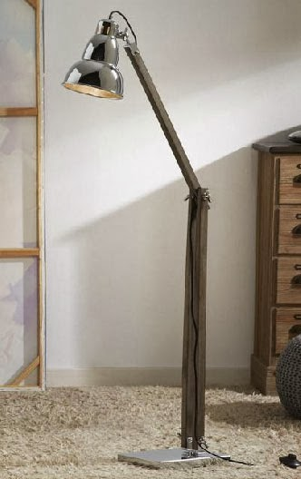 Lampara de Pie, lampara decorativa, lampara salon