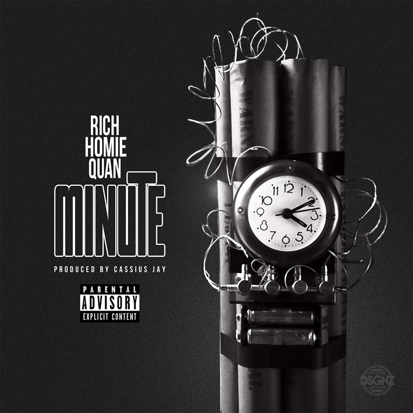 Rich Homie Quan - Minute (feat. Cassius Jay) - Single Cover