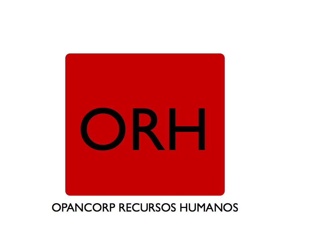 OPANCORP RECURSOS HUMANOS