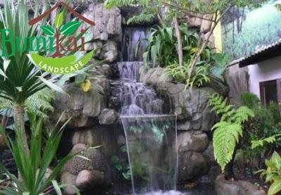 Jasa Pembuatan Taman Relief Tebing