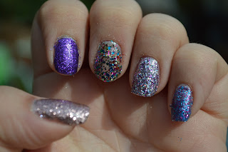 DIY Peel Off Base Coat and Models Own Glitter Nail Polish