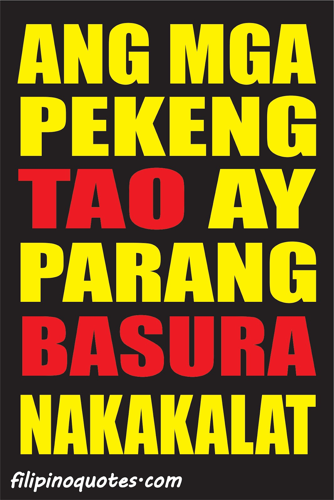 tagalog quotes patama sa kaaway quotesgram