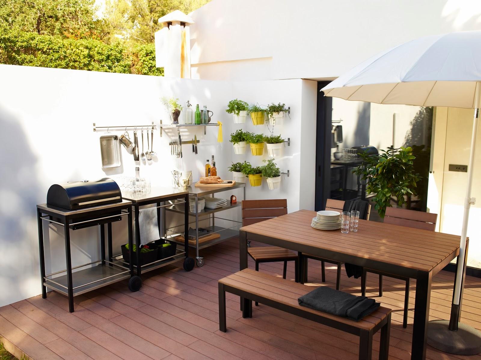 Colecci n primavera 2014 de ikea el bungalow - Ikea mesas jardin ...
