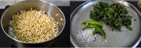 preparations for keerai vadai