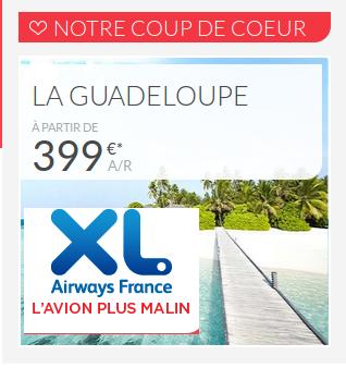 Bons plans Xl Airways