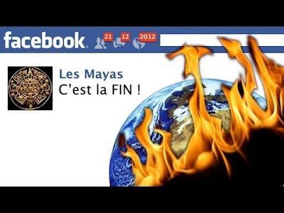La fin du monde sur Facebook