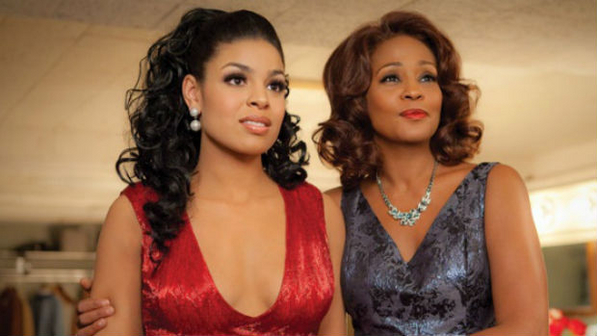 "Cena do filme ""Sparkle"" com whitney"