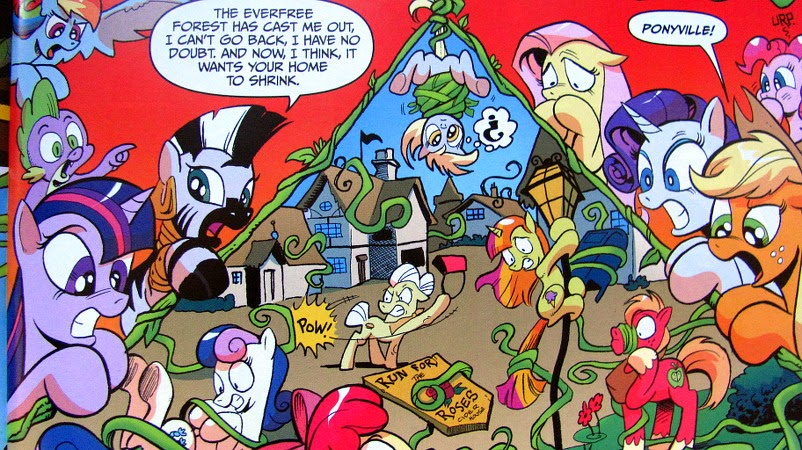 Zecora shows the Mane Six what's happening to Ponyville