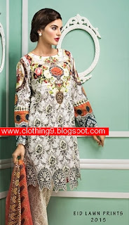 Cross Stitch Eid Lawn Designs