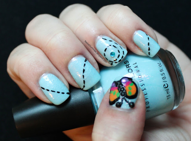 Sinful Colors butterfly mani