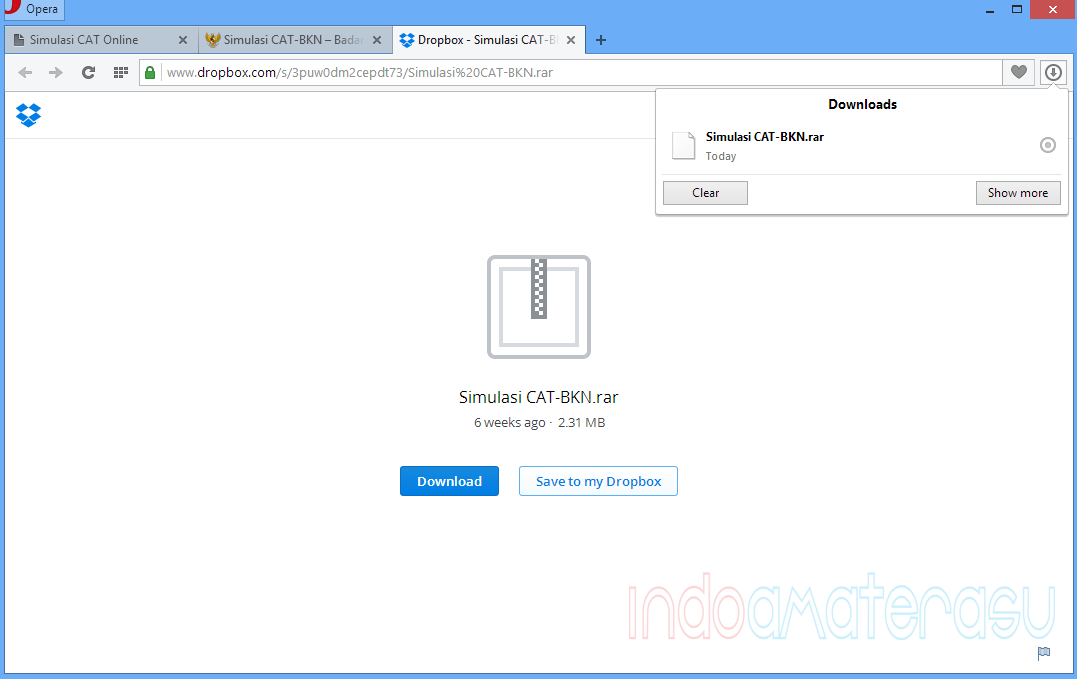 Menelusuri Letak Penyimpanan File Download Browser Opera Secara Cepat 1
