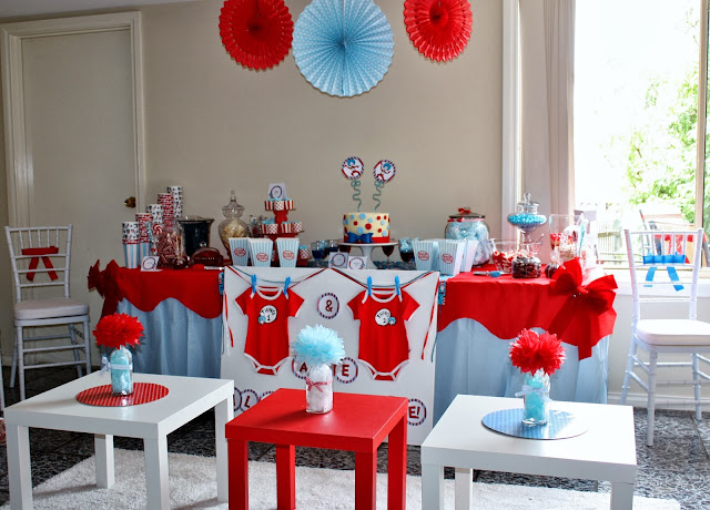 party of 11 tempting fate a thing 1 and thing 2 baby shower