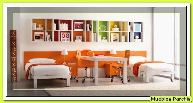 Cama mesa abatible camas autoportantes dormitorios - Cuadros habitaciones juveniles ...