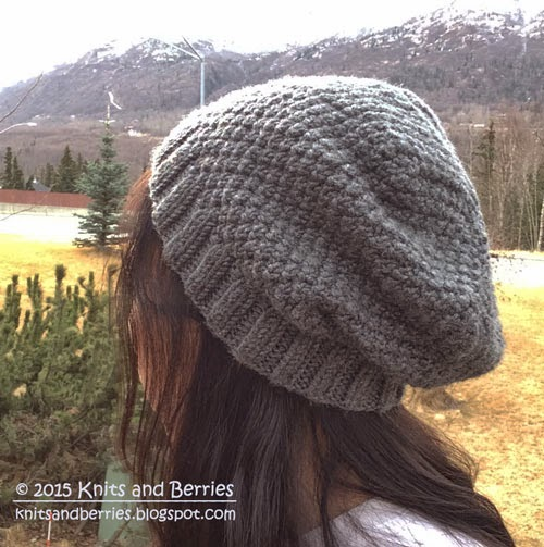 Double Seed Stitch Knitting In The Round : Shelah knits double seed stitch hat pattern