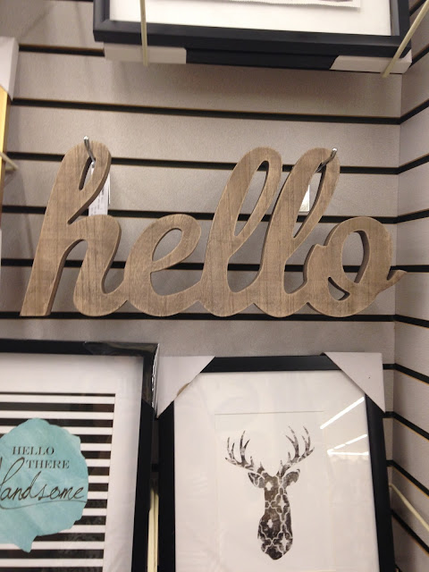 {Let's Go Shopping} Decor inspiration from Pier One, JoAnn Fabrics, HomeGoods and Hobby Lobby. - Little House of Four