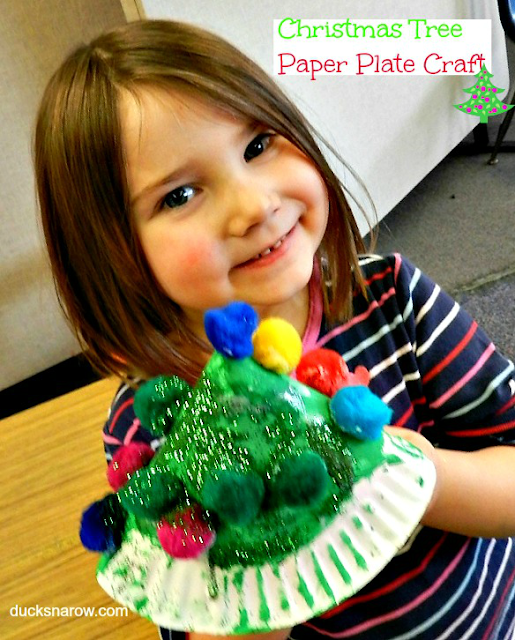 kids crafts, paper plate crafts, preschool, Christmas crafts for kiids