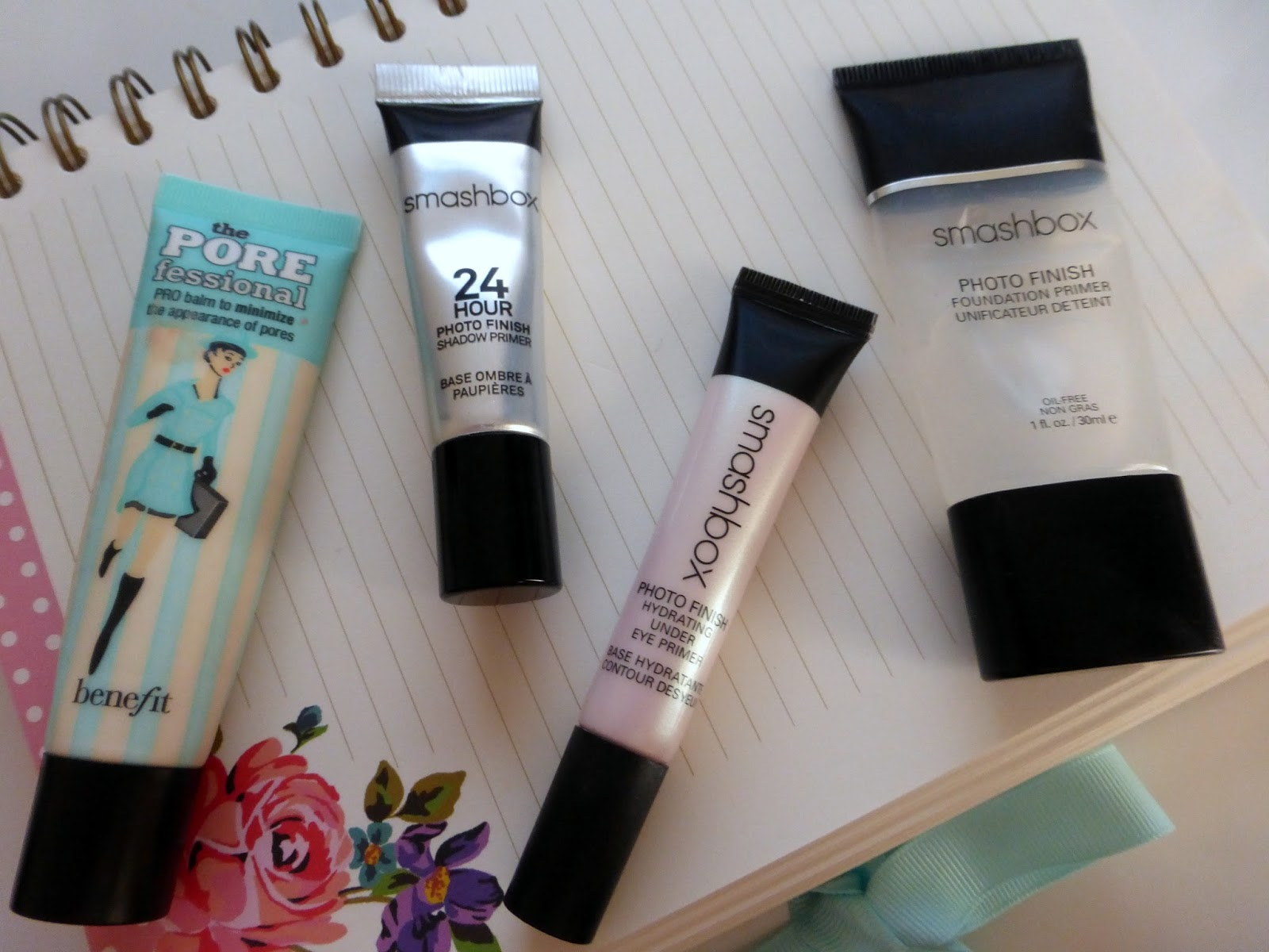 primers for oily skin, smashbox primer, benefit primer